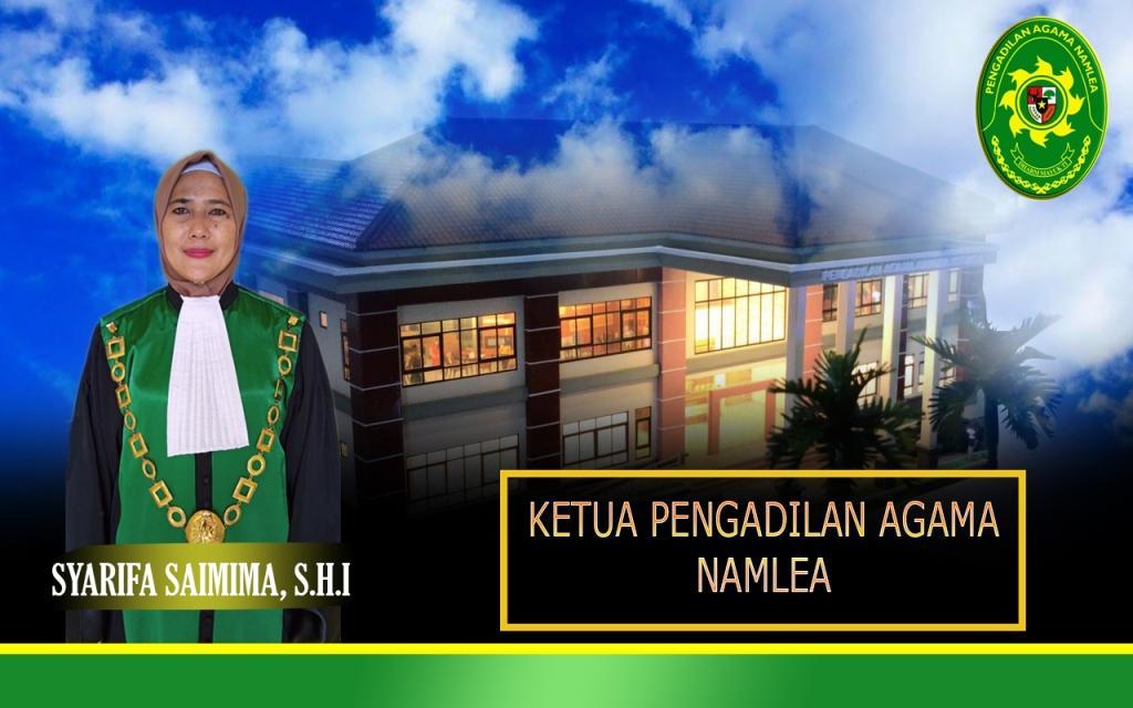 Selamat Datang di Website Resmi Pengadilan Agama Namlea Kelas II